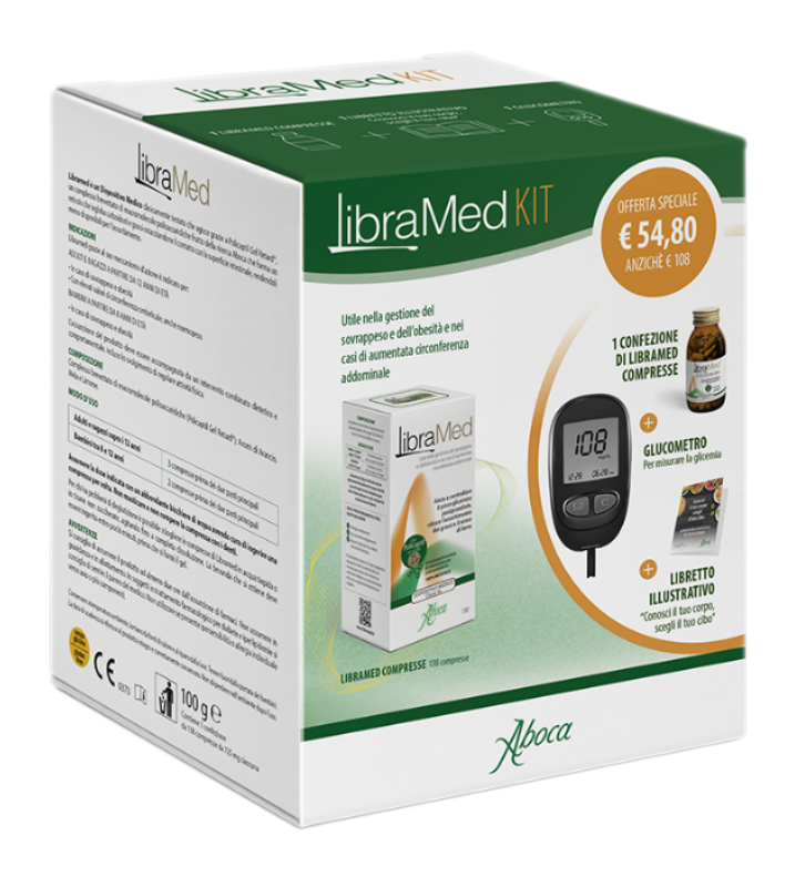 LIBRAMED KIT 138 CPR+ GLUCOMETRO