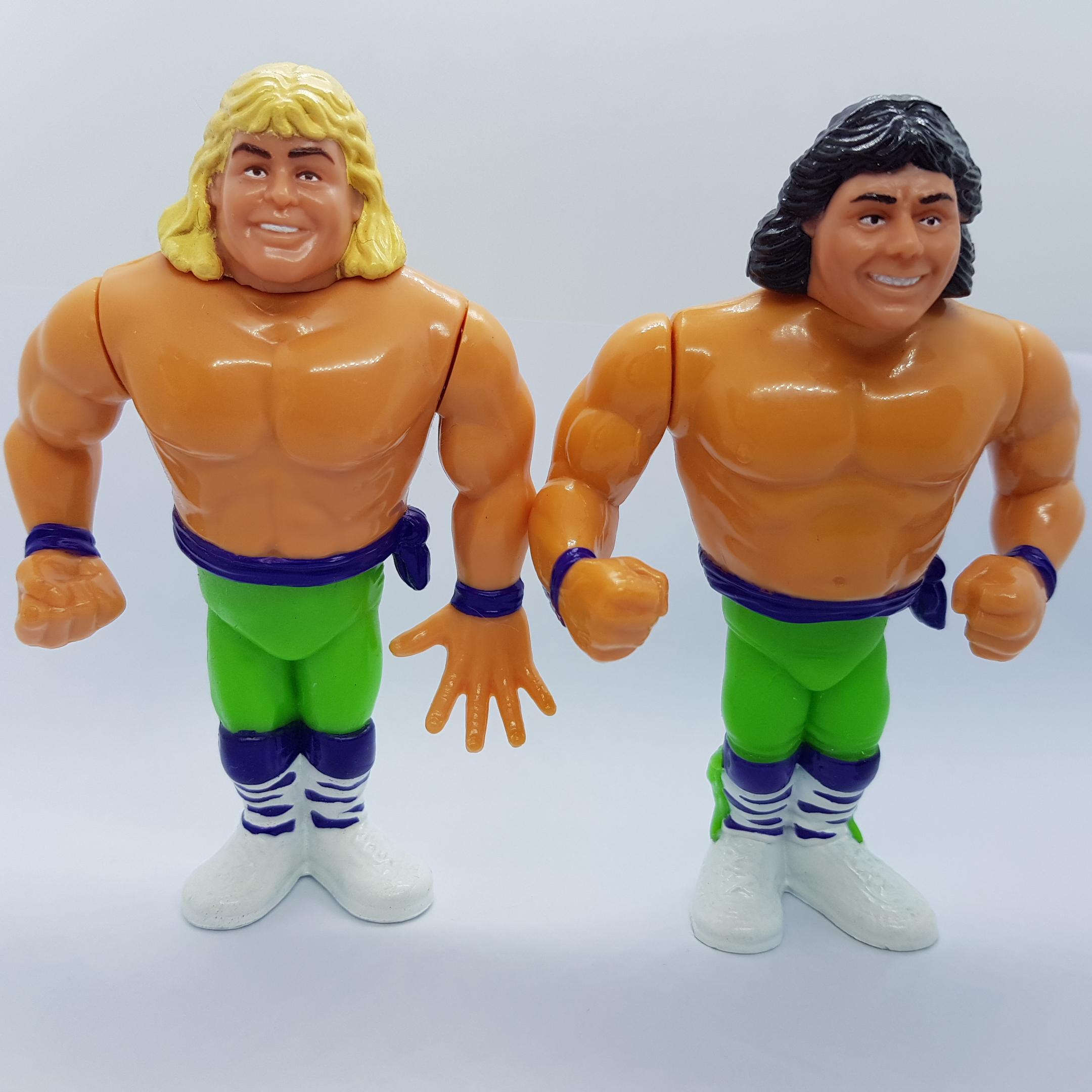 WWF Hasbro Vintage Series: THE ROCKERS by Hasbro