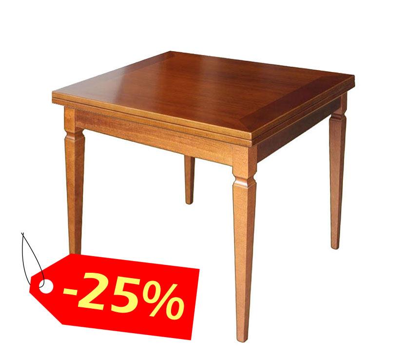 Tavolo da pranzo allungabile 90-180 cm