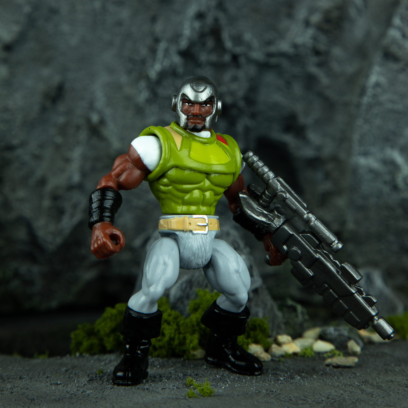 Warlords of Wor: DX BLOCKADE - 2019 Ohio Toy&Comic Show Exclusive by ManOrMonster? Studios