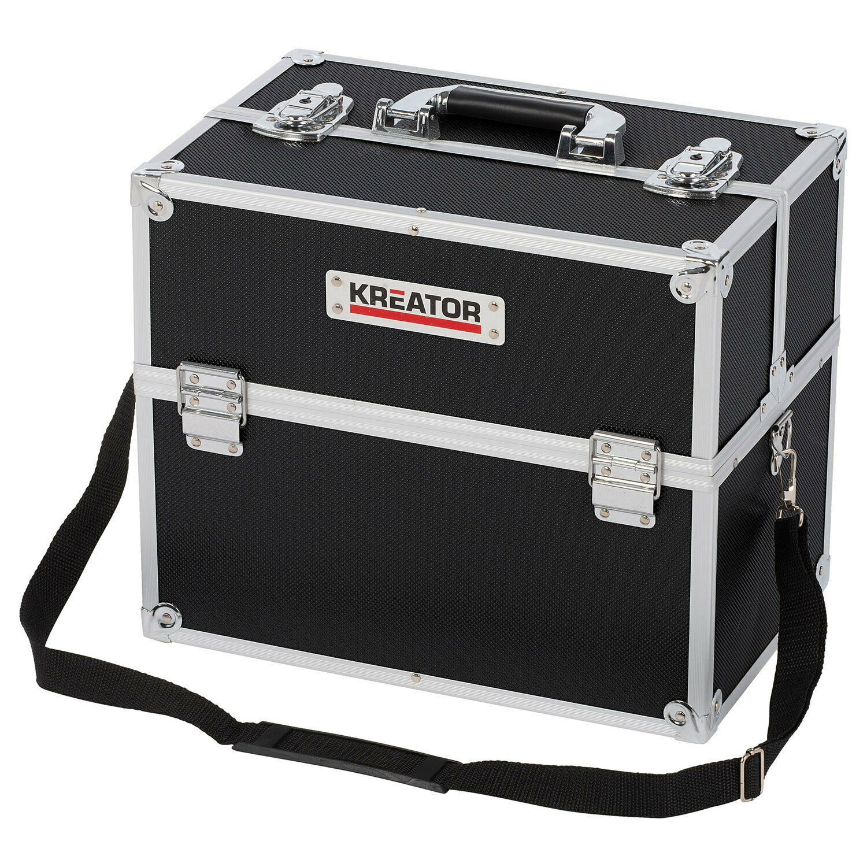 Kreator baule valigia valigetta in alluminio portautensili mm360x300x230