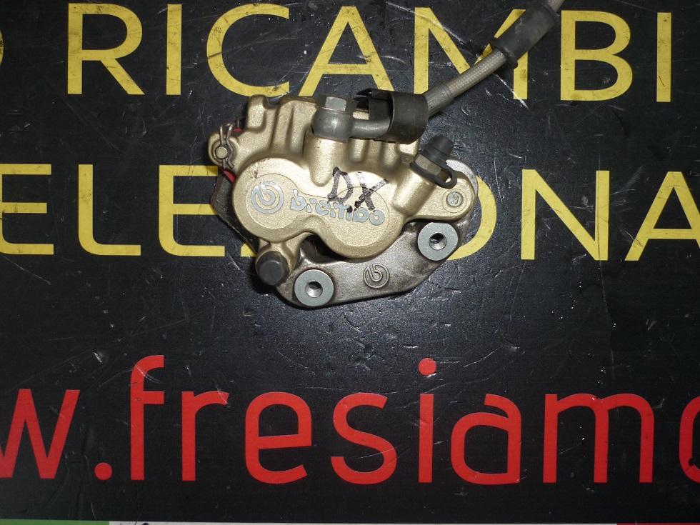 PINZA FRENO ANTERIORE DESTRA USATA PER GILERA NEXUS 500 CC ANNO 2005