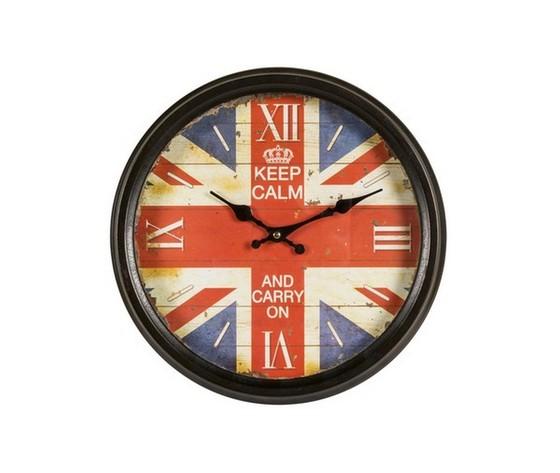 Orologio da parete Keep Calm UK Collection