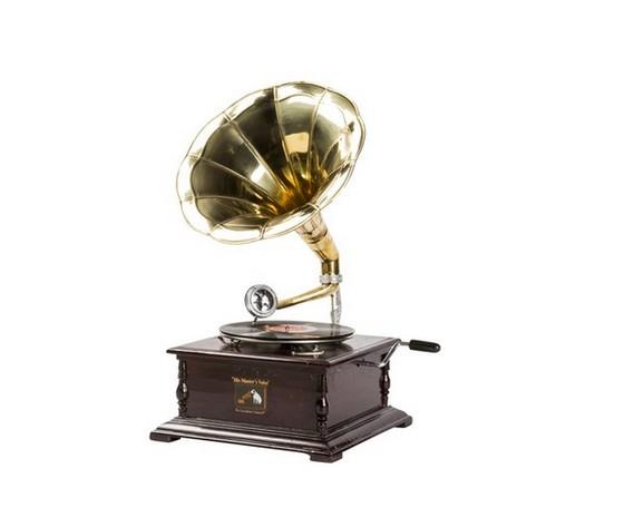 Grammofono quadrato