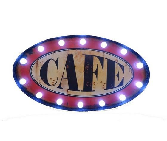 Insegna  luminosa 'CAFE'