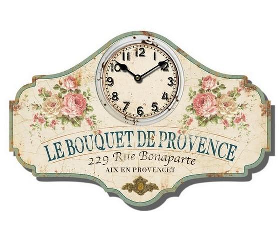 Orologio da parete Le bouquet de provence