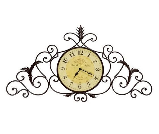 Orologio in ferro lavorato