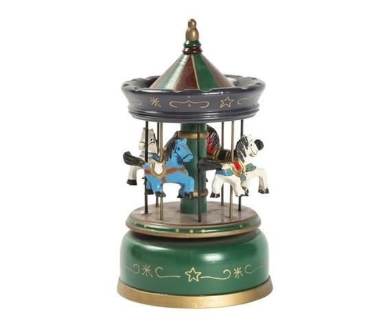 Carillon giostra musicale verde