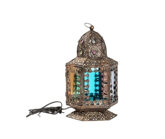 Lampada da tavolo lanterna 40cm