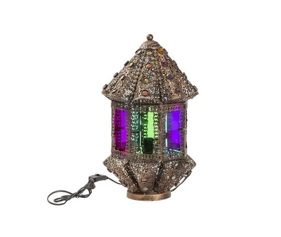 Lampada da tavolo lanterna 45cm