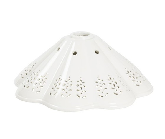 Piatto in ceramica traforato 39cm