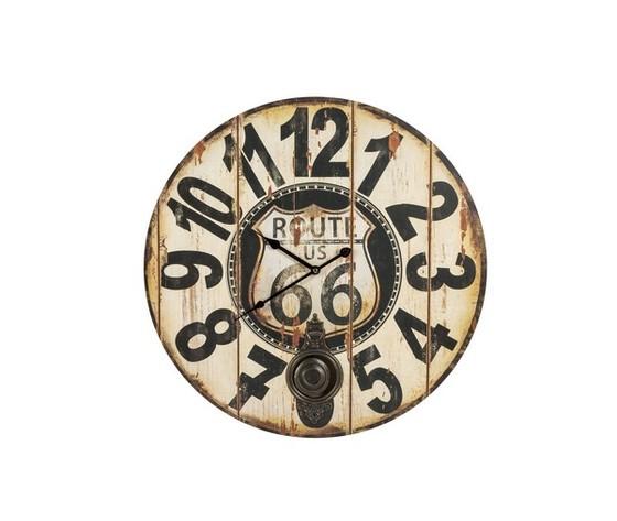 orologio con pendolo route 66