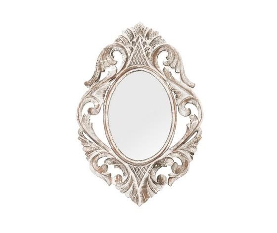 specchio bianco lavorato 60cm