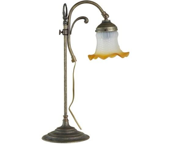 Lampada da tavolo allungabile