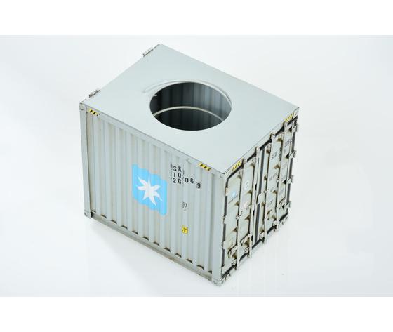 Modellino di container portafazzoletti