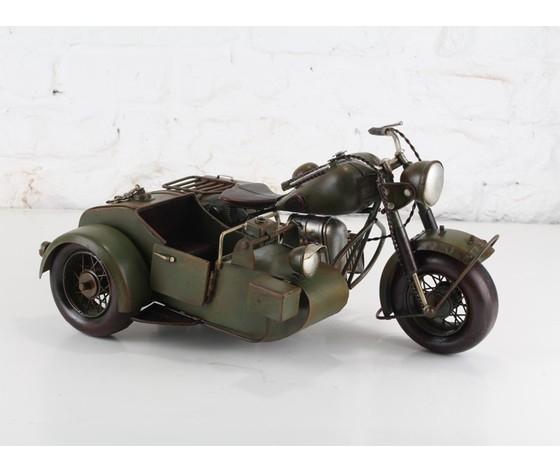 Modellino in latta moto BMW-275