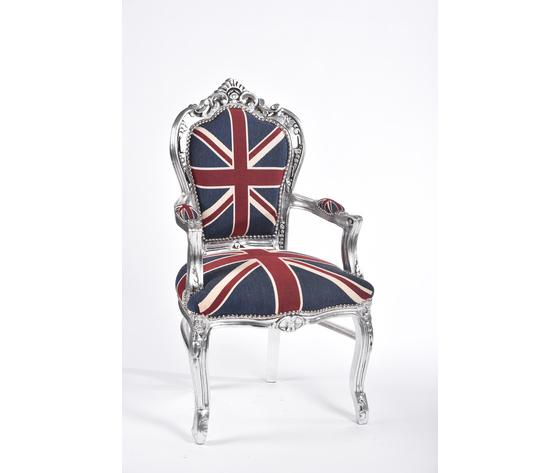 Poltrona Barocco Silver UK