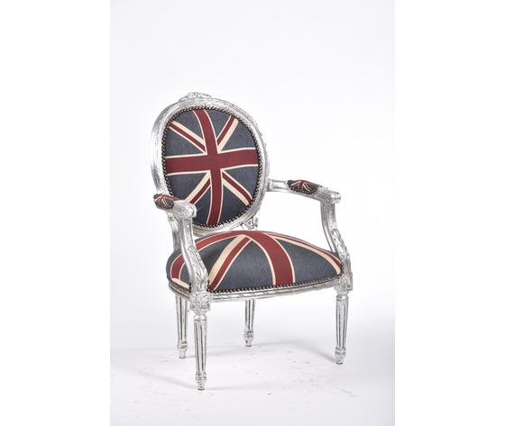 Poltrona Medaglione Silver UK