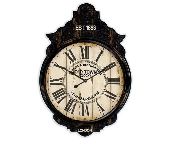 Orologio da Parete Legno Effetto Anticato