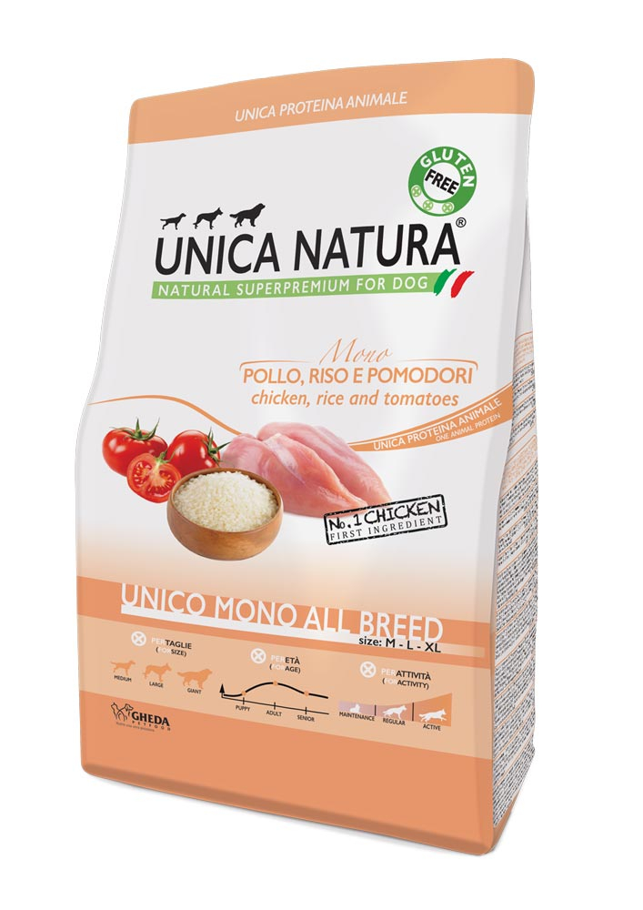 Pollo, Riso e Pomodori - UNICO MONO ALL BREED