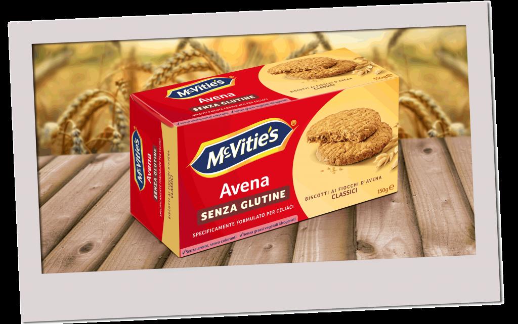 Biscotti ai fiocchi d'avena classici, senza glutine