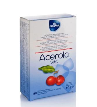 Acerola VitC 80 compresse