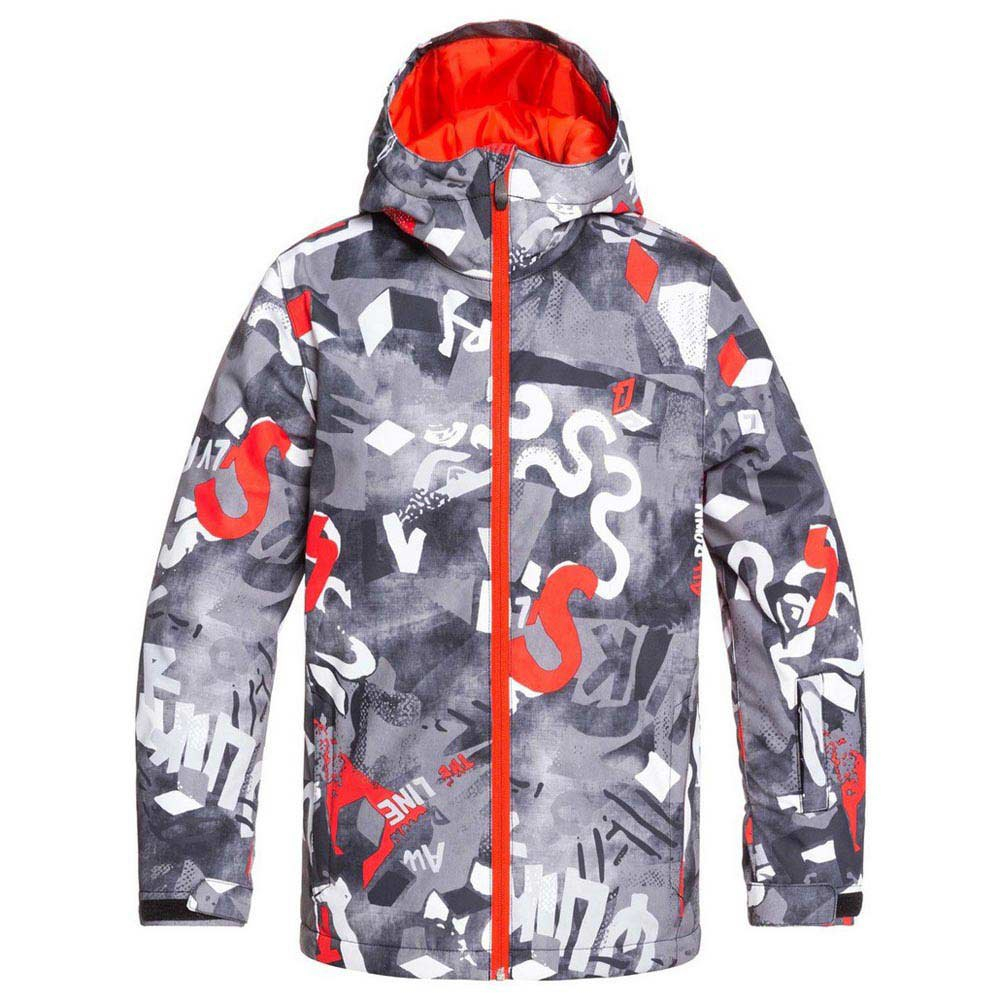 Giacca Snowboard QuikSilver Boy Mission Vintage