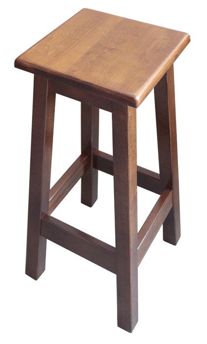 Taburete de cocina madera de álamo