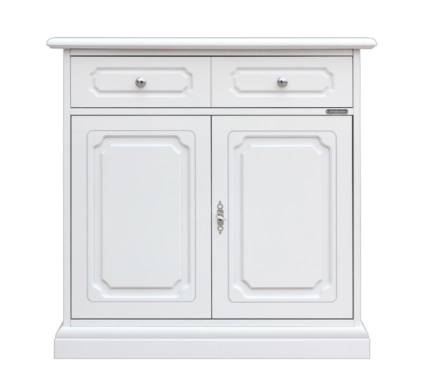 Aparador en madera estilo clásico 2 puertas para cocina