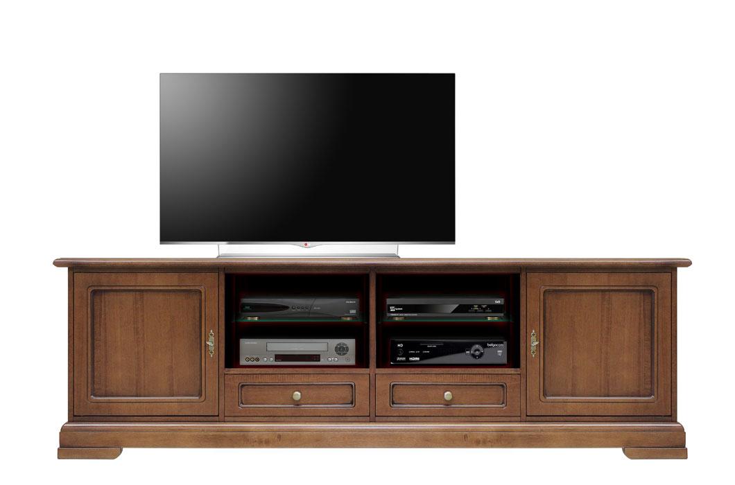 Mueble tv estilo clásico anchura 2m
