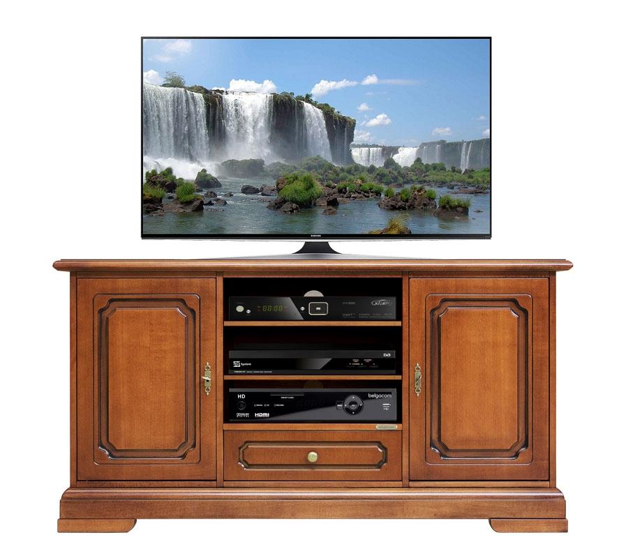 Mueble tv 2 puertas anchura 130 cm