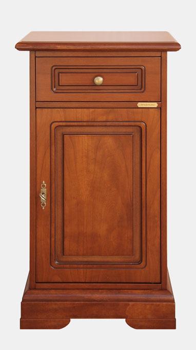 Telefonera de madera por recibidor y salón