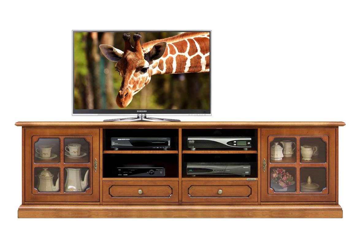 Mueble tv vanos puertas anchura 2 metri