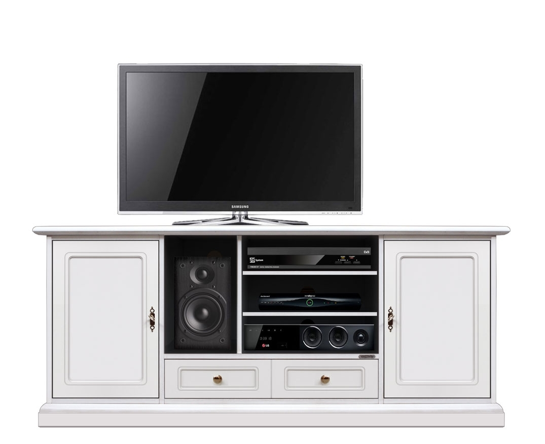 Mueble tv blanco Home Cinema