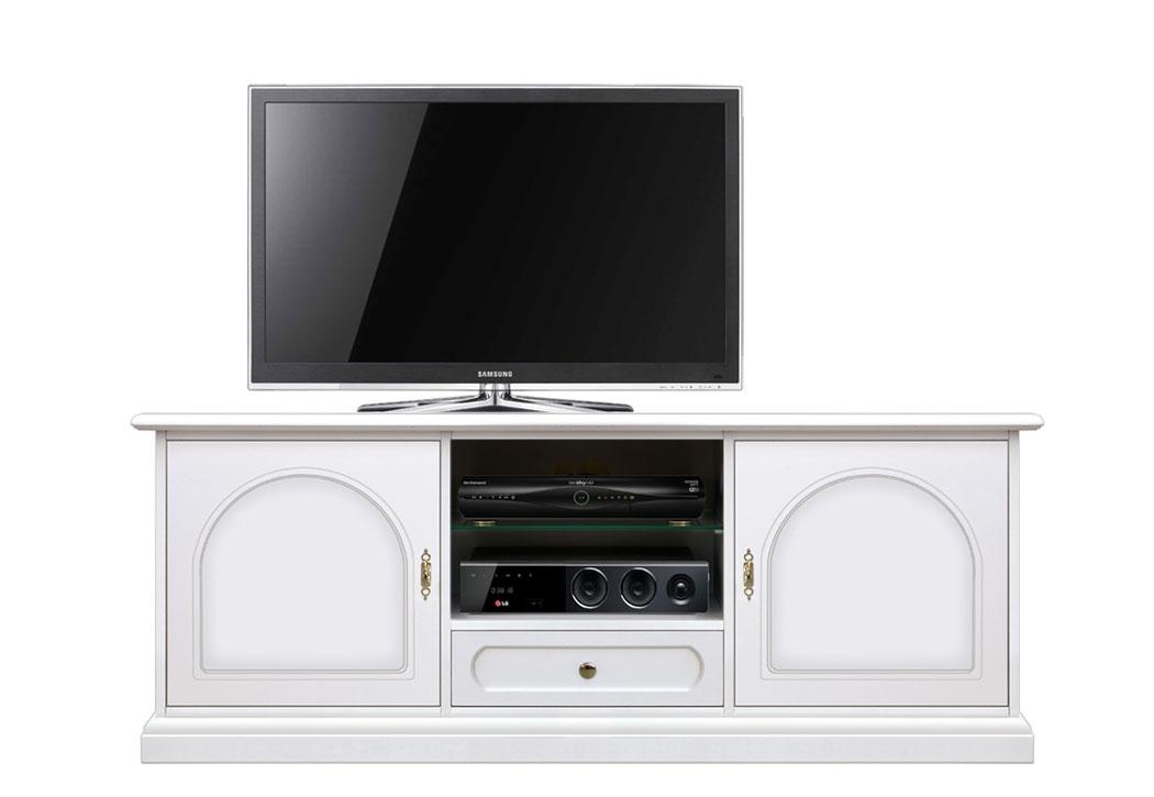 Mueble de tv en madera lacada