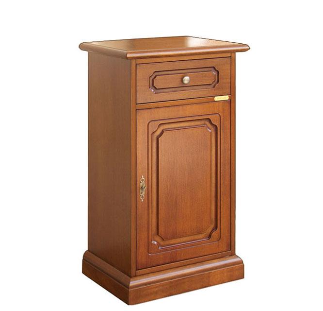 Telefonera de madera 1 puerta 1 cajón