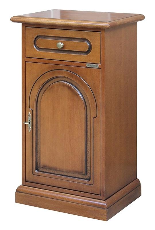 Telefonera de madera estilo clásico
