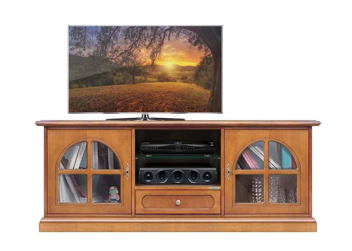 Mueble tv largo estilo clásico