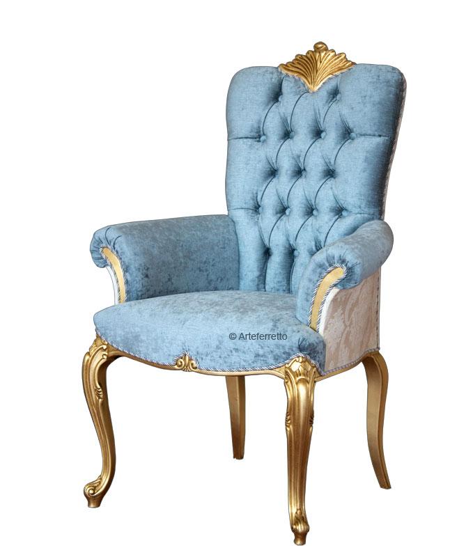 Cabecera de lujo hoja de oro tapizada y respaldo capitoné