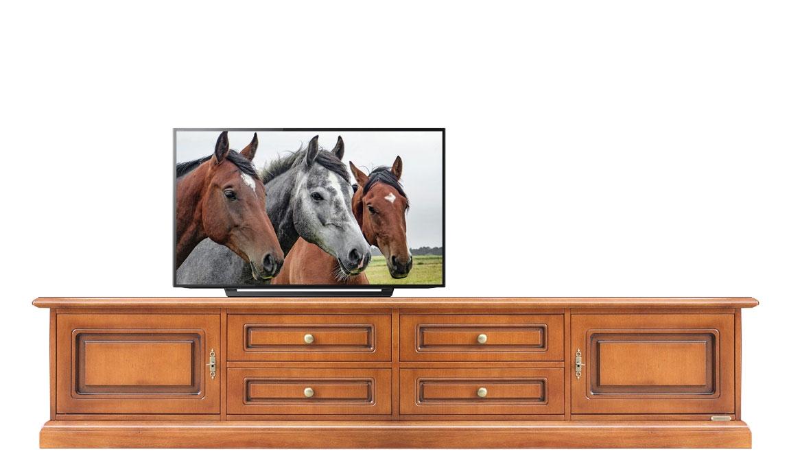Mueble tv cajones puertas sin vanos