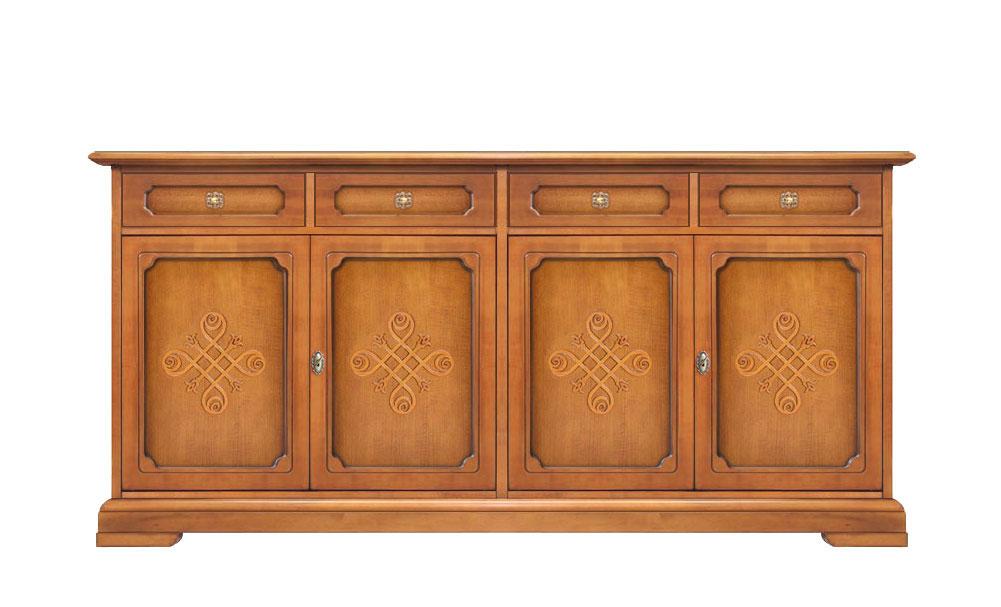 Aparador tamaño grande 4 puertas - Colección YOU