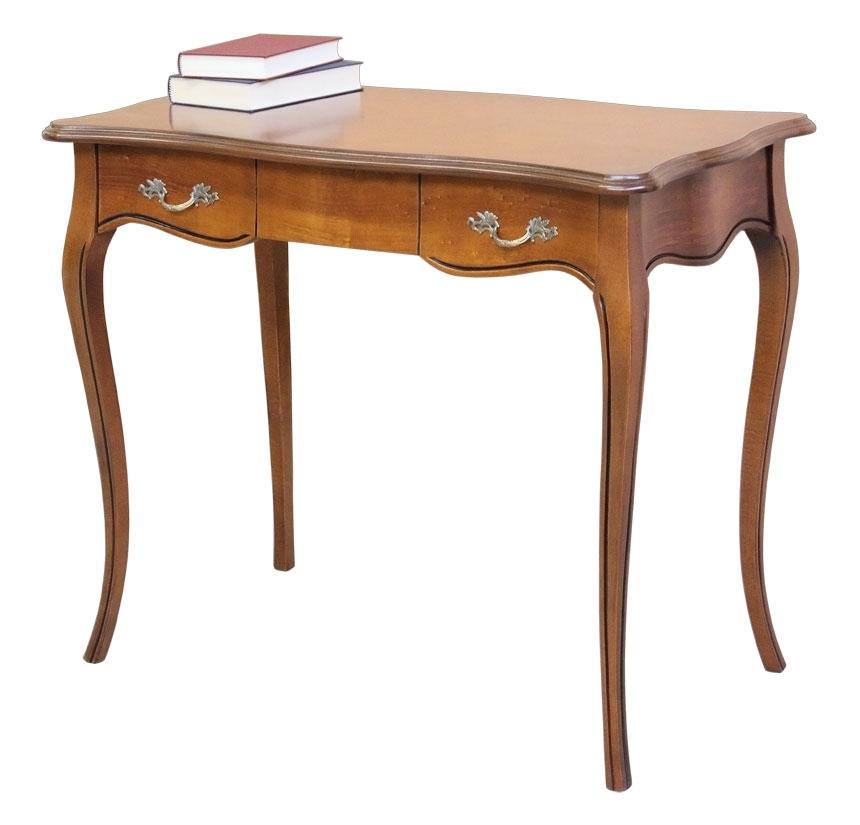 Mesa de despacho estilo clásico patas moldeadas  Cavallino
