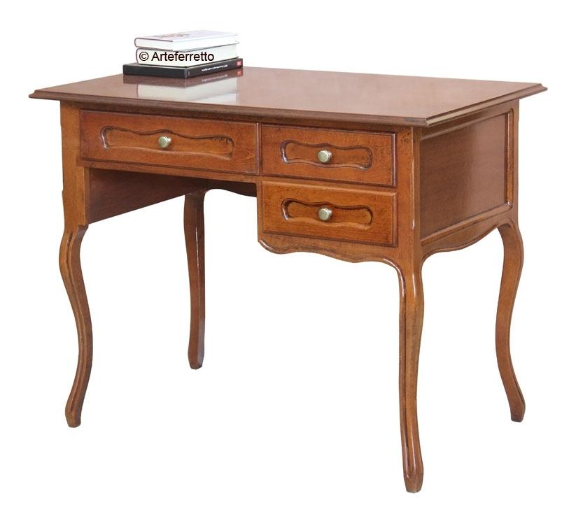 Mesa de despacho estilo provenzal de artesanado