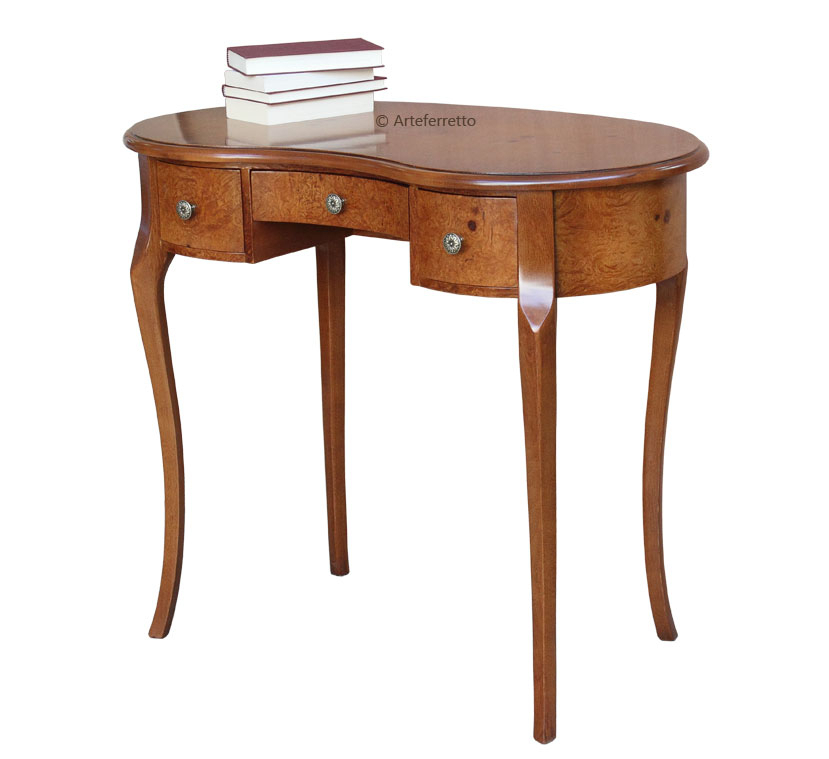Mesa de despacho moldeada y pequeña