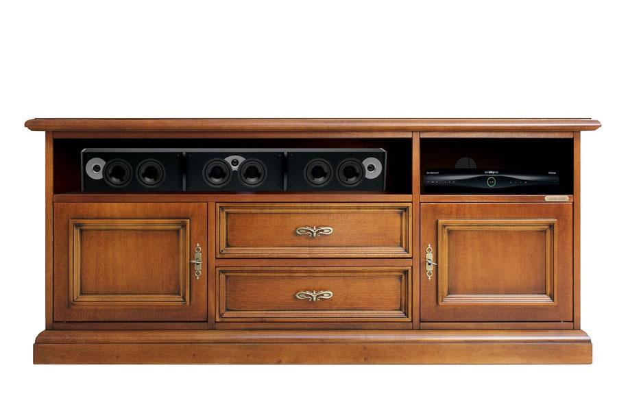 Mueble tv vano barra de sonido cm 130 salón o comedor