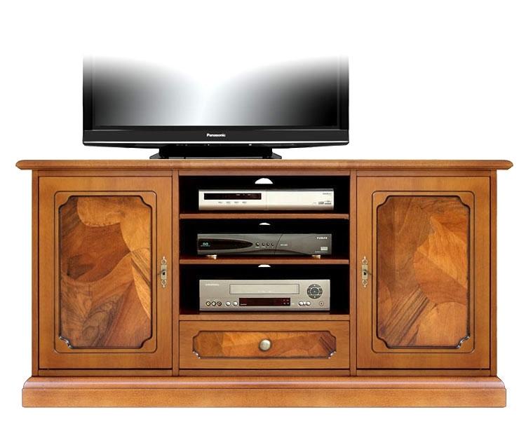 Mueble tv puertas cajón en raíz