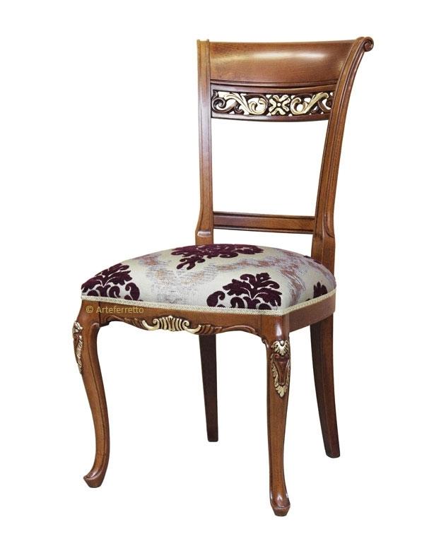 Silla estilo veneciano '700 de artesanado