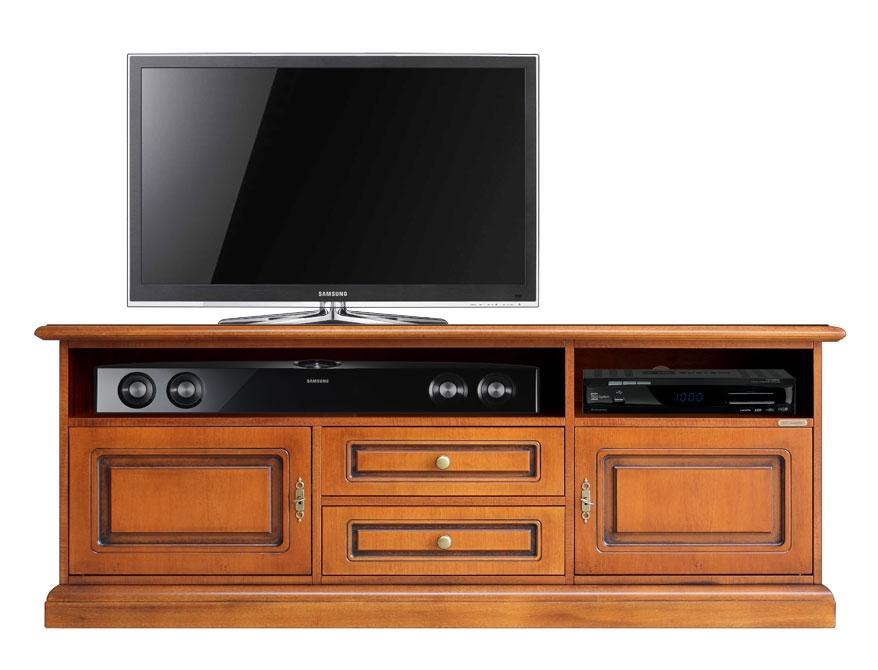 Mueble tv aparador vano barra de sonido central