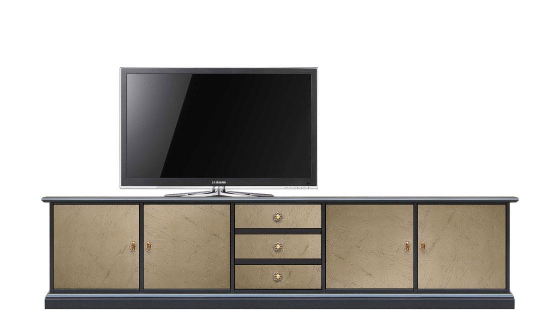 Mueble bicolor de tv 250 cm Grandvision