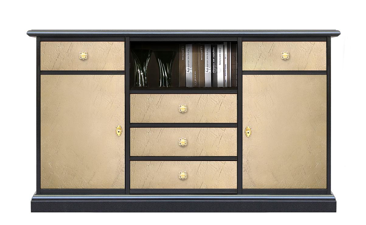 Mueble bicolor de salón Riace